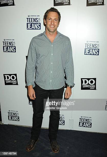Actor Mike Faiola attends the 6th Annual Teens for Jeans Campaign Party held at Palihouse on January 8 2013 in West Hollywood California