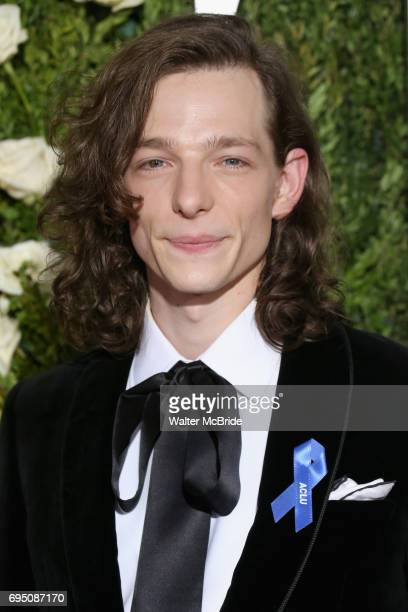 Actor Mike Faist attends the 71st Annual Tony Awards at Radio City Music Hall on June 11 2017 in New York City