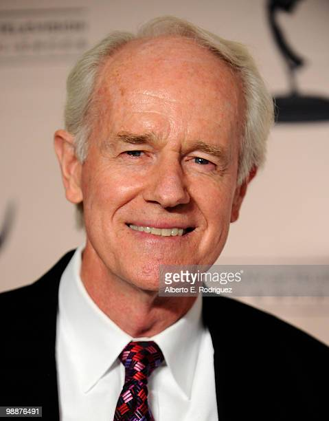 Actor Mike Farrell arrives at the Academy of Television Arts Sciences' 3rd Annual Academy Honors at the Beverly Hills Hotel on May 5 2010 in Beverly...