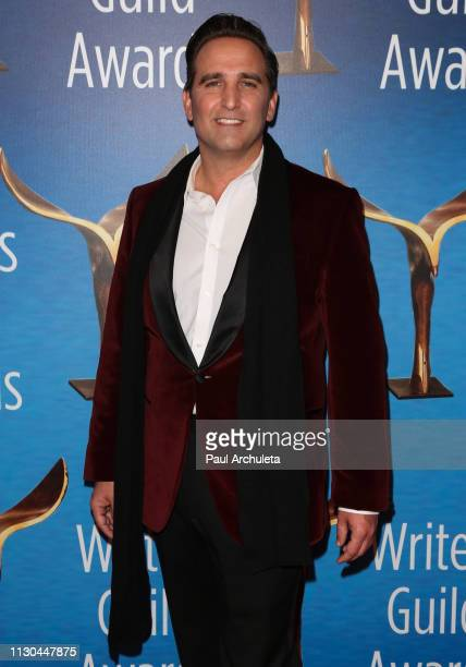 Actor Mike Hatton attends the 2019 Writers Guild Awards LA ceremony at The Beverly Hilton Hotel on February 17 2019 in Beverly Hills California