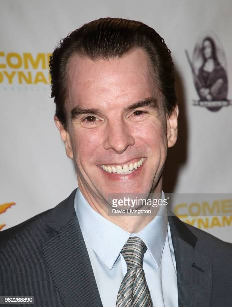 Actor Mike McGlone attends the premiere of Comedy Dynamics' The Fury of the Fist and the Golden Fleece at Laemmle's Music Hall 3 on May 24 2018 in...