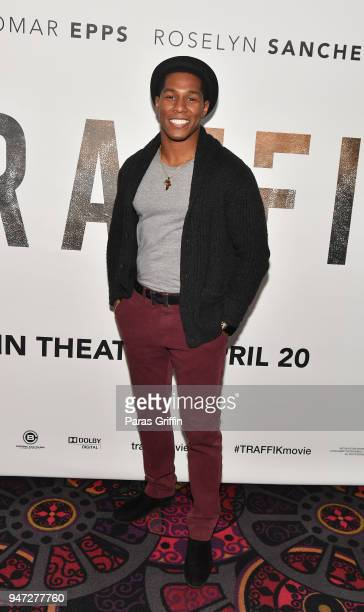 Actor Mike Merrill attends Traffik Atlanta VIP Screening at Regal Atlantic Station on April 16 2018 in Atlanta Georgia