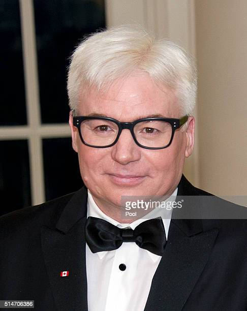 Actor Mike Myers arrives arrive for the State Dinner in honor of Prime Minister Trudeau and First Lady Sophie Trudeau of Canada at the White House...