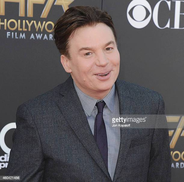 Actor Mike Myers arrives at the 18th Annual Hollywood Film Awards at Hollywood Palladium on November 14 2014 in Hollywood California