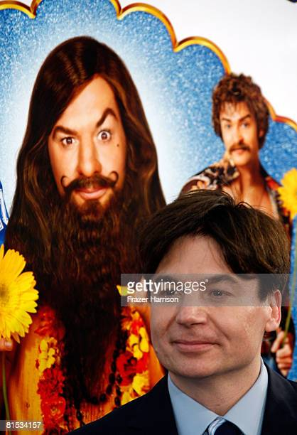 Actor Mike Myers Arrives At The Premiere Of Paramounts Love Guru Held