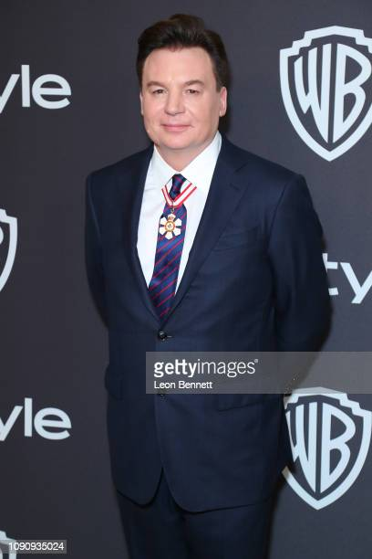 Actor Mike Myers attends InStyle And Warner Bros Golden Globes After Party 2019 at The Beverly Hilton Hotel on January 06 2019 in Beverly Hills...
