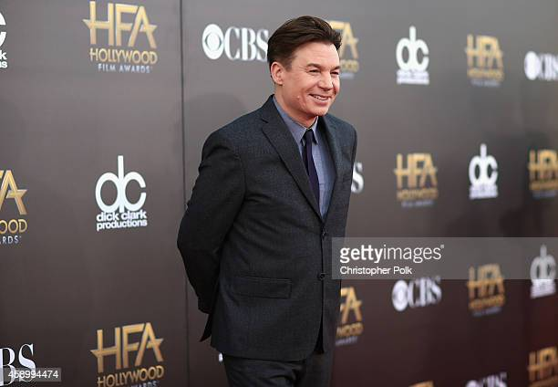 Actor Mike Myers attends the 18th Annual Hollywood Film Awards at The Palladium on November 14 2014 in Hollywood California