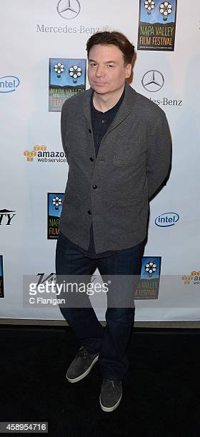 Actor Mike Myers attends the 2014 Festival Gala during the Napa Valley Film Festival on November 13 2014 in Napa California