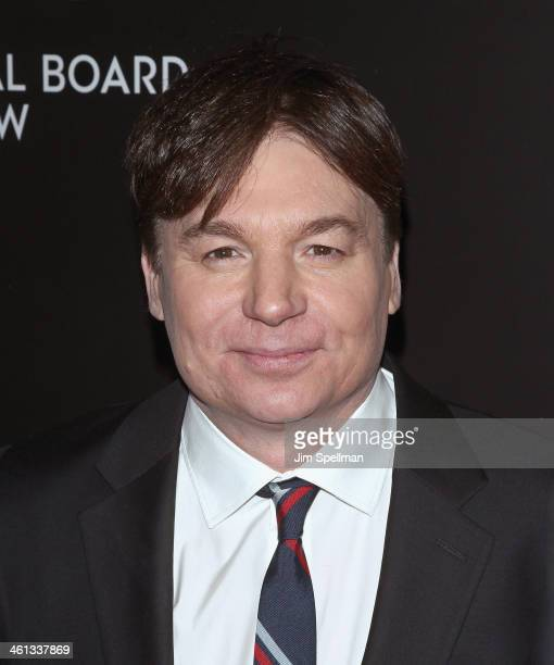 Actor Mike Myers attends the 2014 National Board Of Review Awards Gala at Cipriani 42nd Street on January 7 2014 in New York City