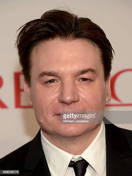 Actor Mike Myers attends the Elton John AIDS Foundation's 13th Annual An Enduring Vision Benefit at Cipriani Wall Street on October 28 2014 in New...