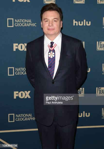 Actor Mike Myers attends the FOX FX and Hulu 2019 Golden Globe Awards after party at The Beverly Hilton Hotel on January 06 2019 in Beverly Hills...