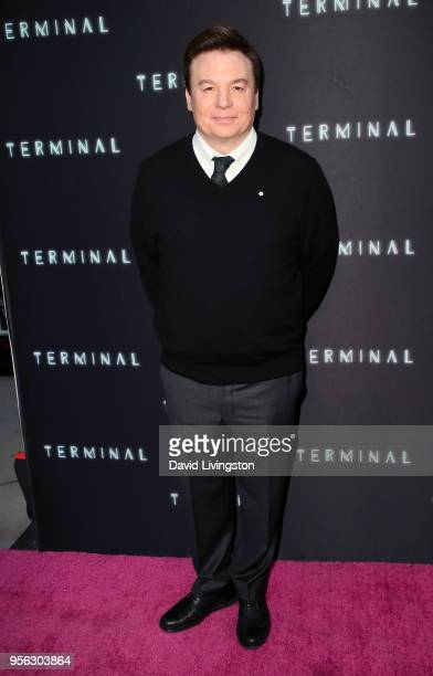Actor Mike Myers attends the premiere of RLJE Films' Terminal at ArcLight Cinemas on May 8 2018 in Hollywood California