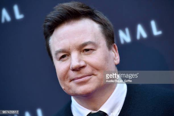 Actor Mike Myers attends the premiere of RLJE Films' 'Terminal' at ArcLight Cinemas on May 8 2018 in Hollywood California