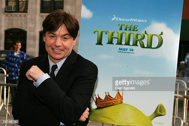 Actor Mike Myers attends the premiere of Shrek The Third at Clearview Chelsea West Cinemas May 14 2007 in New York City
