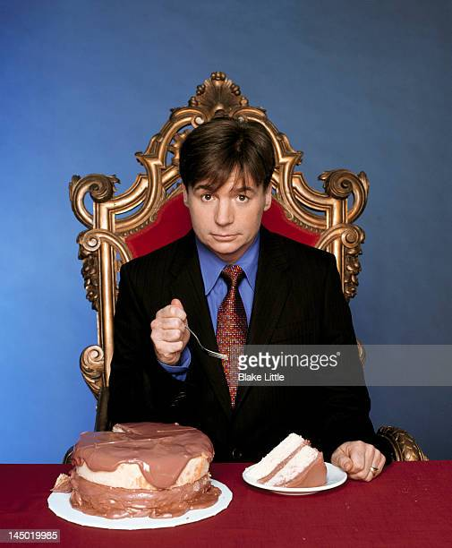 Actor Mike Myers is photographed for Parade Magazine on September 7 2003 in Los Angeles California