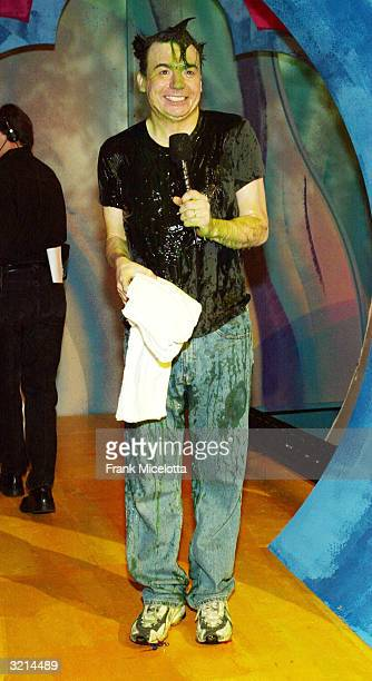 Actor Mike Myers poses backstage during Nickelodeon's 17th Annual Kids' Choice Awards at Pauley Pavilion on the campus of UCLA April 3 2004 in...