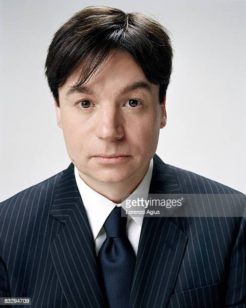Actor Mike Myers poses for a portrait shoot for Esquire magazine in Los Angeles on May 8 2008