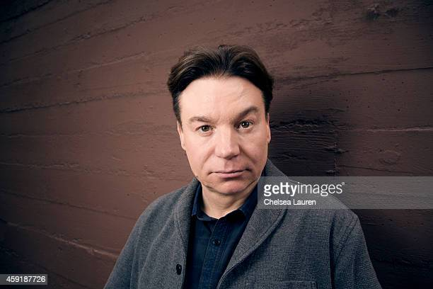 Actor Mike Myers poses for Portrait Session at the Napa Valley Film Festival on November 13 2014 in Napa California
