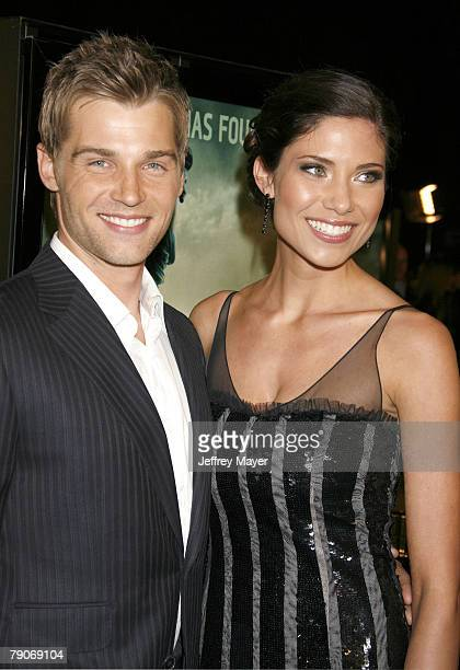 mike vogel wife stock photos and pictures getty images