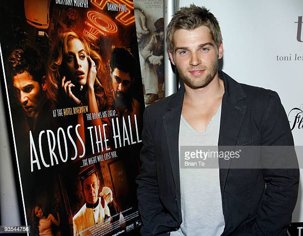 Actor Mike Vogel attends Across The Hall Los Angeles Premiere at Laemmle's Music Hall 3 on December 1 2009 in Beverly Hills California