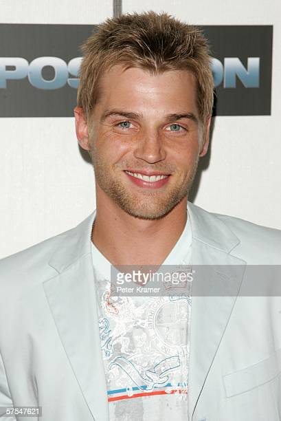 """Actor Mike Vogel attends the """"Poseidon"""" premiere at the Tribeca Performing Arts Center May 6, 2006 in New York City."""