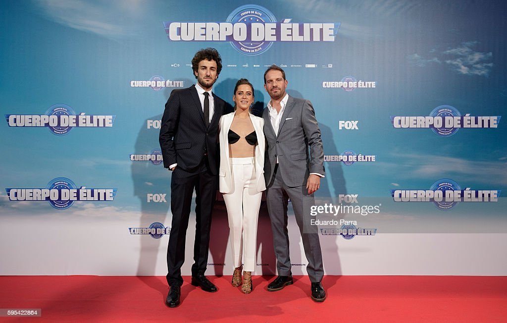 'Cuerpo De Elite' Madrid Premiere