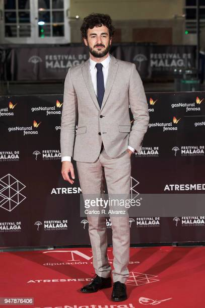 Actor Miki Esparbe attends 'Las Distancias' premiere during the 21th Malaga Film Festival at the Cervantes Theater on April 17 2018 in Malaga Spain