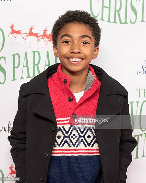 Actor Miles Brown arrives at the 85th Annual Hollywood Christmas Parade on November 27 2016 in Hollywood California
