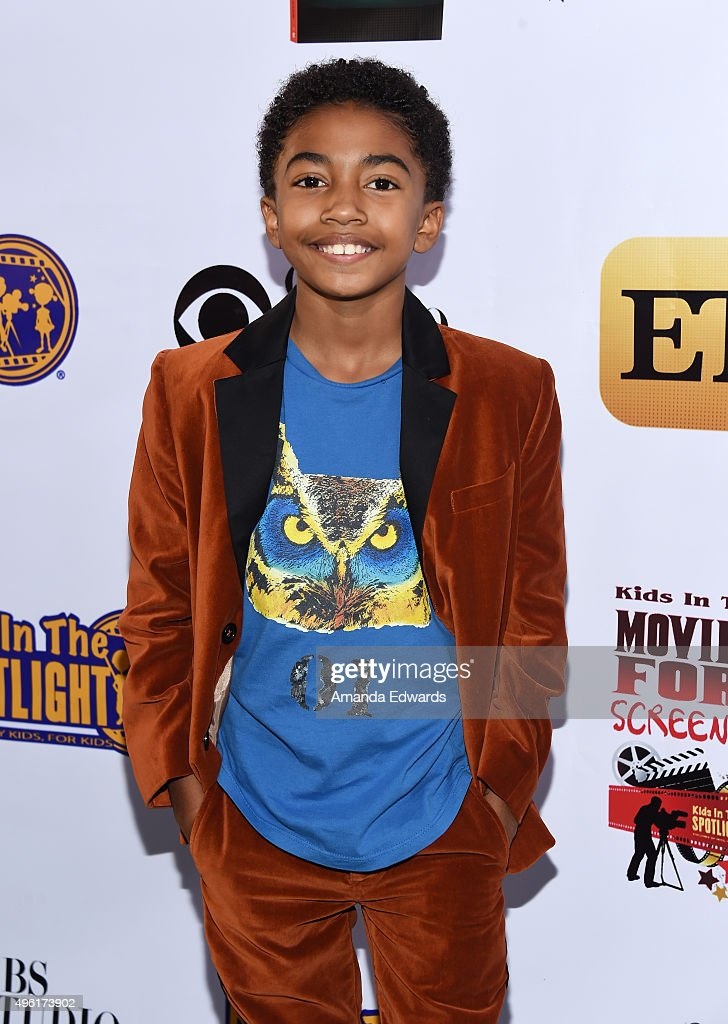 Actor Miles Brown arrives at the Kids In The Spotlight's Movies By Kids, For Kids Film Awards at Fox Studios on November 7, 2015 in Los Angeles, California.