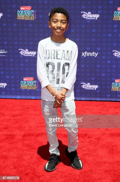 Actor Miles Brown attends the 2017 Radio Disney Music Awards at Microsoft Theater on April 29 2017 in Los Angeles California
