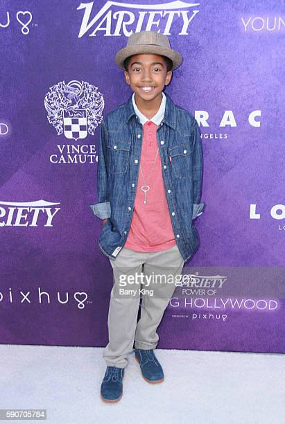 Actor Miles Brown attends Variety's Power of Young Hollywood event presented by Pixhug with platinum sponsor Vince Camuto at NeueHouse Hollywood on...