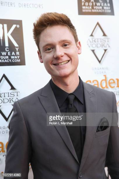 Actor Miles Tagtmeyer attends the 6th International Academy of Web Television Awards at Skirball Cultural Center on August 24 2018 in Los Angeles...