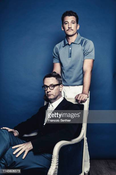 Actor Miles Teller and filmmaker Nicolas Winding Refn from 'Too Old To Die Young' poses for a portrait on May 19 2019 in Cannes France