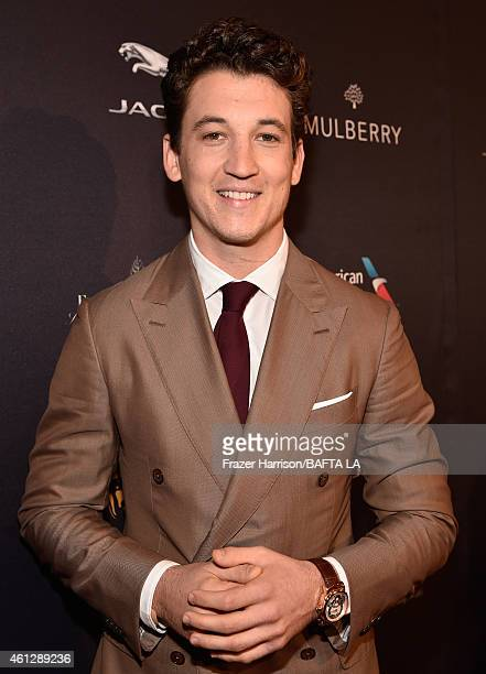 Actor Miles Teller attends the BAFTA Los Angeles Tea Party at The Four Seasons Hotel Los Angeles At Beverly Hills on January 10, 2015 in Beverly...