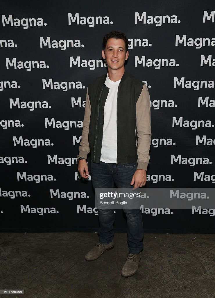 "Magna Entertainment Preview Screening ""Bleed For This"" With Miles Teller"