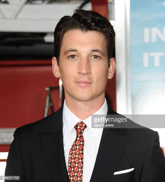 Actor Miles Teller attends the premiere of Only the Brave at Regency Village Theatre on October 8 2017 in Westwood California