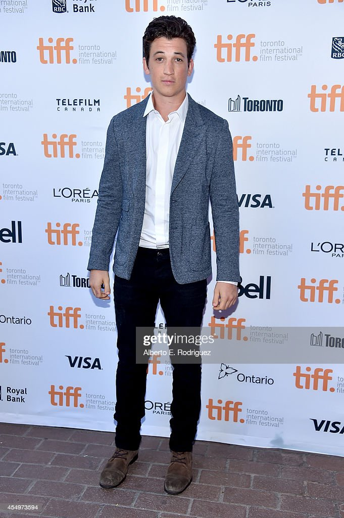"""Whiplash"" Premiere - 2014 Toronto International Film Festival : Nachrichtenfoto"