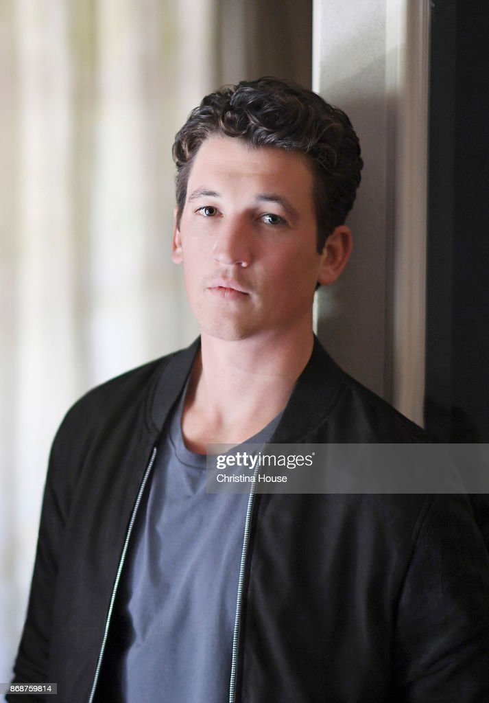 Actor Miles Teller is photographed for Los Angeles Times on October 8, 2017 in Los Angeles, California.