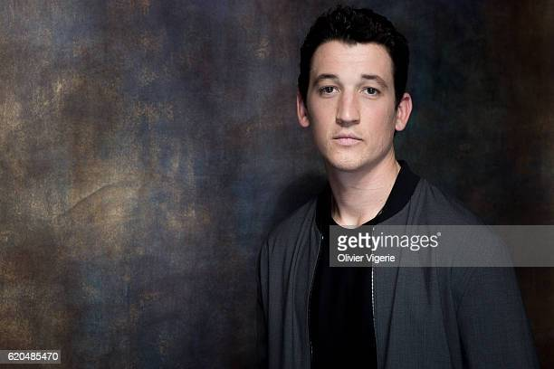 Actor Miles Teller is photographed for Self Assignment on September 3 2016 in Deauville France