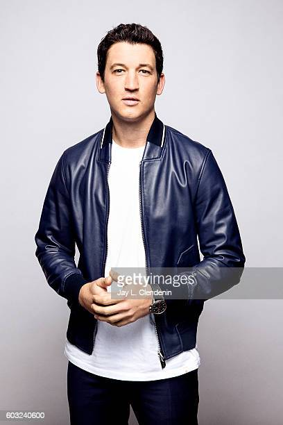 Actor Miles Teller of 'Bleed For This' poses for a portraits at the Toronto International Film Festival for Los Angeles Times on September 12 2016 in...