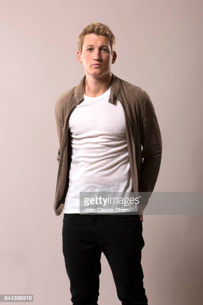 Actor Miles Teller photographed for MovieMaker on August 4 in New York City