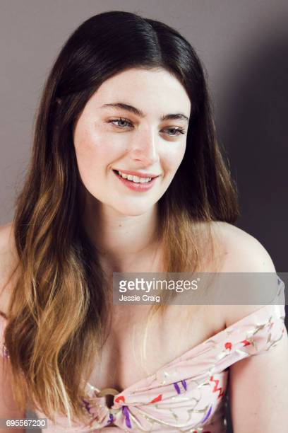 Actor Millie Brady is photographed for The Picture Journal on April 7 2017 in London England