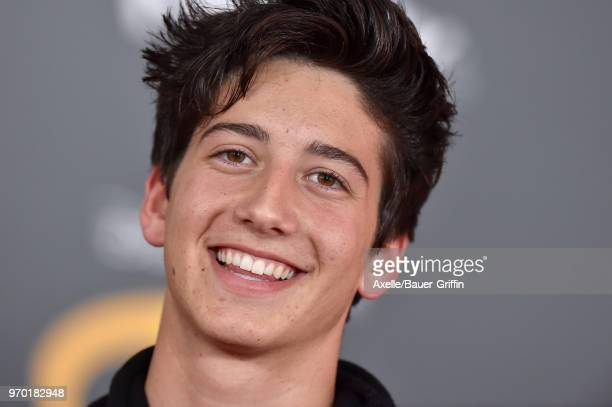 Actor Milo Manheim attends the World Premiere of Disney and Pixar's 'Incredibles 2' on June 5 2018 in Los Angeles California