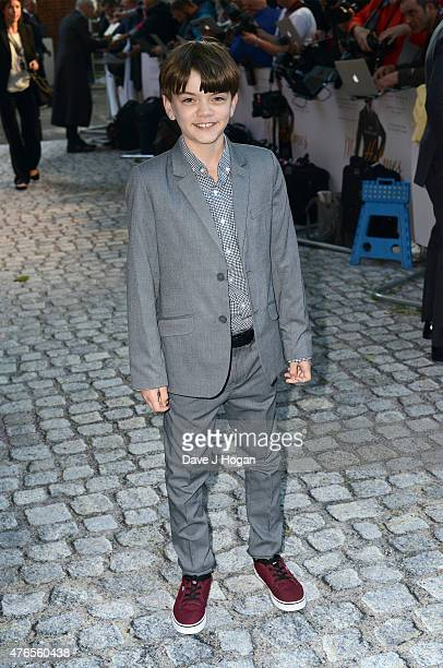 Actor Milo Parker attends the UK Premiere of Mr Holmes at the Odeon Kensington on June 10 2015 in London England