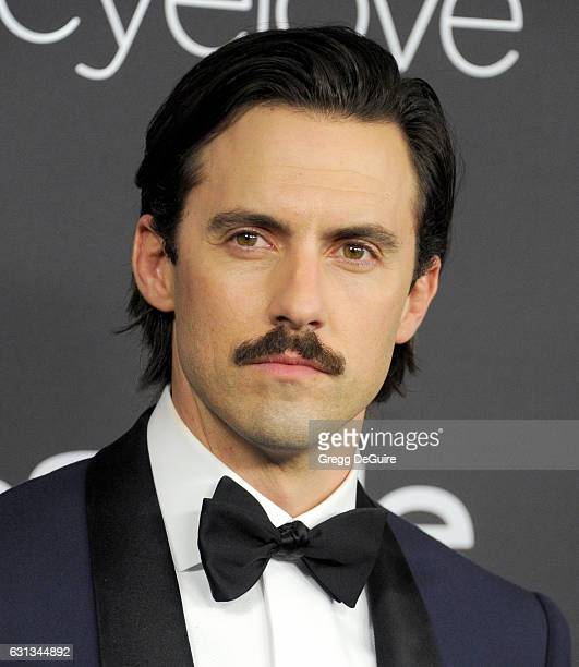 Actor Milo Ventimiglia arrives at the 18th Annual PostGolden Globes Party hosted by Warner Bros Pictures and InStyle at The Beverly Hilton Hotel on...
