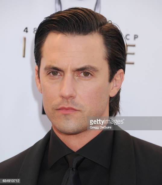 Actor Milo Ventimiglia arrives at the 48th NAACP Image Awards at Pasadena Civic Auditorium on February 11 2017 in Pasadena California