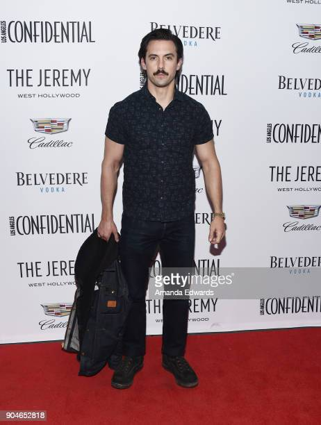 Actor Milo Ventimiglia arrives at the Los Angeles Confidential 'Awards Issue' Celebration hosted by cover stars Alison Brie Milo Ventimiglia and Ana...