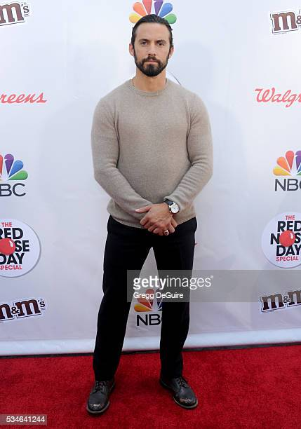 Actor Milo Ventimiglia arrives at The Red Nose Day Special at the Alfred Hitchcock Theater at Universal Studios on May 26 2016 in Universal City...