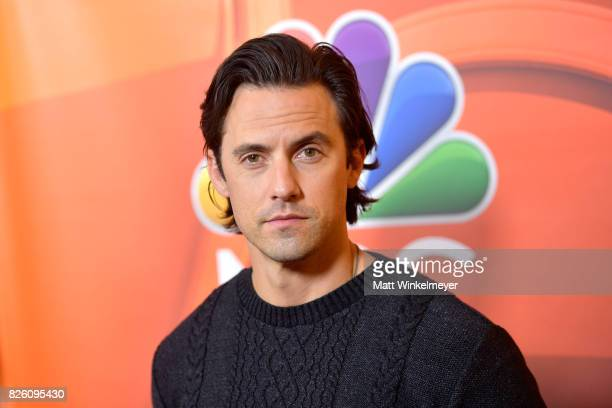 Actor Milo Ventimiglia at the NBCUniversal Summer TCA Press Tour at The Beverly Hilton Hotel on August 3 2017 in Beverly Hills California