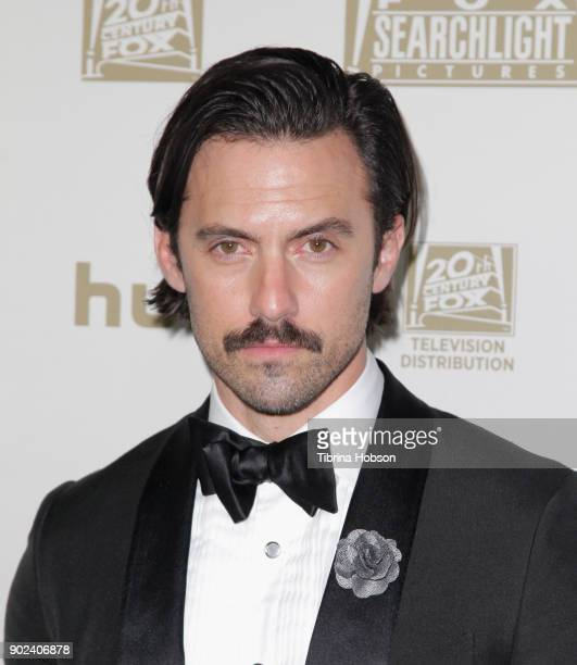 Actor Milo Ventimiglia attends FOX FX and Hulu 2018 Golden Globe Awards After Party at The Beverly Hilton Hotel on January 7 2018 in Beverly Hills...